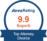 Avvo Rating 9.9 Divorce