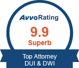 Avvo Rating 9.9 DUI